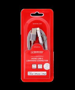 Kabel 2w1 Micro USB